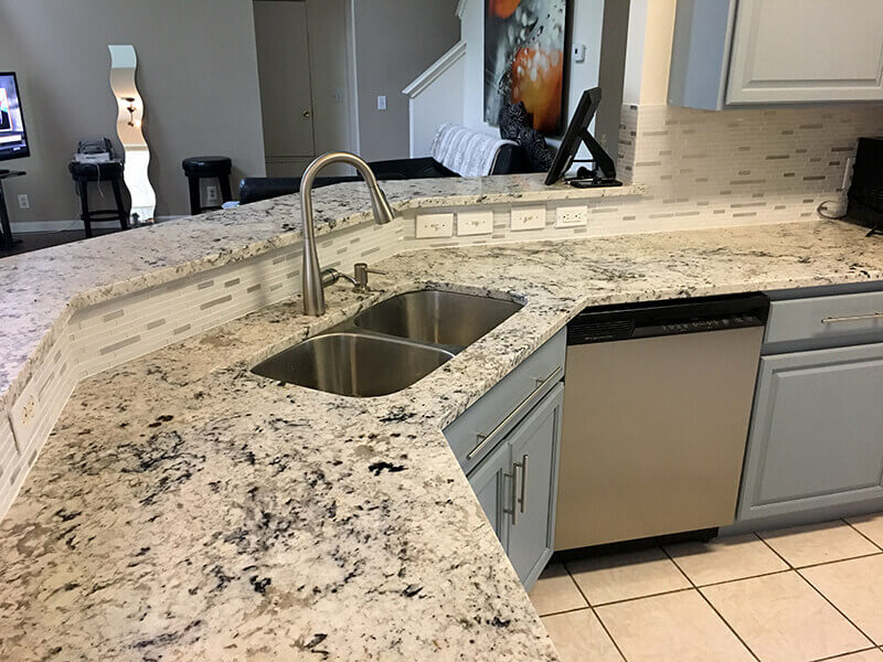 How To Seal Granite Countertops. STEP 1